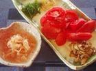 トマトとガリの簡単おつまみ