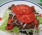 トマトと牛肉のトマト焼肉丼