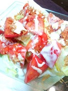 和風シーザートマトサラダ