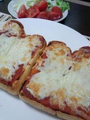 トマトピザトースト