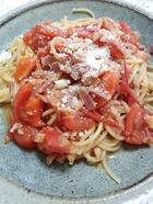 辛い!トマトパスタ