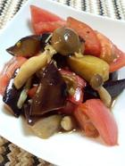 トマトなすしめじのバルサミコマリネ